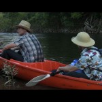 Jack and Kent finish their canoe journey